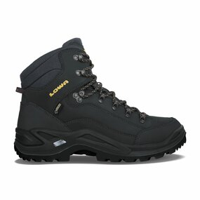 LOWA Renegade GTX MID Men, anthrazit/senf