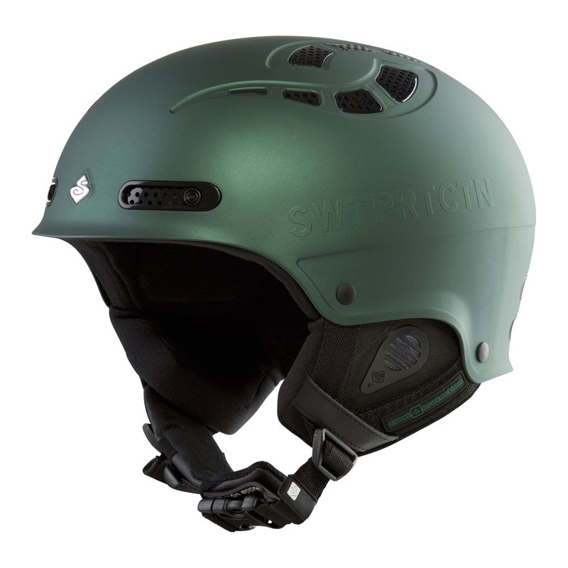 Sweet Protection Igniter Ski & Snowboard Helm Matte Racing Green Metallic