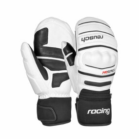 Reusch World Champ Mitten Fauster white/black