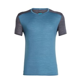 Icebreaker Amplify Short Sleeve Crewe Men Thunder/Panther...