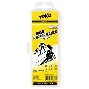 TOKO Base Performance Hot Wax yellow 120 g