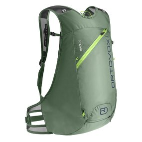 Ortovox TRACE 20 Rucksack green isar
