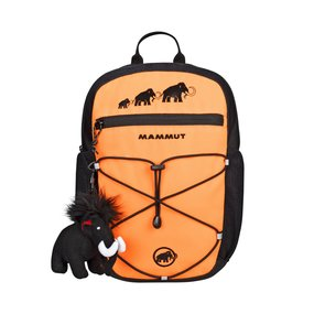 Mammut First Zip Rucksack safety orange-black, 4 L