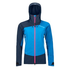 Ortovox Westalpen Softshell Jacket Women safety blue