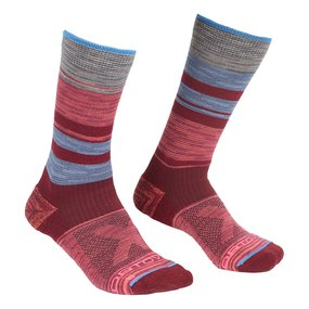 Ortovox All Mountain Mid Socks Women multicolour