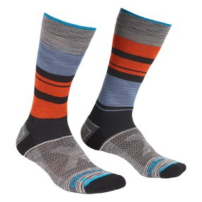 Ortovox All Mountain Mid Socks Men multicolour