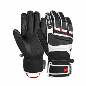 Reusch Profi SL Handschuhe black/white/fire red