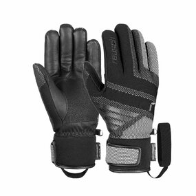 Reusch Re:Knit Laurin R-TEX XT Handschuhe, black/white