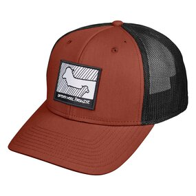 Ortovox Wool Promise Trucker Cap clay orange
