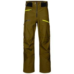 Ortovox 3L Deep Shell Pants Men green moss