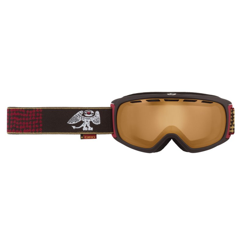 Giro Basis Matte Brown l Low Persimmon 57 Skibrille