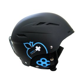 Movement Big a Ski & Snowboard Helm black/blue, XS/S
