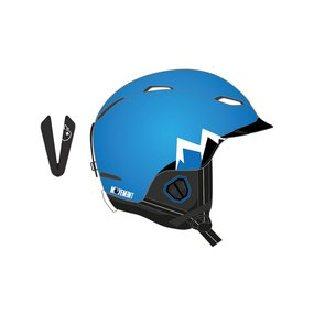 Movement MTN Ski & Snowboard Helm blue, M/L